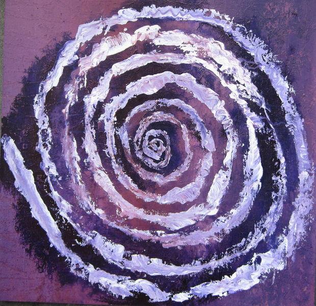 Violett, Spirituell, Wachsende ringe, Geist, Profil, Formen