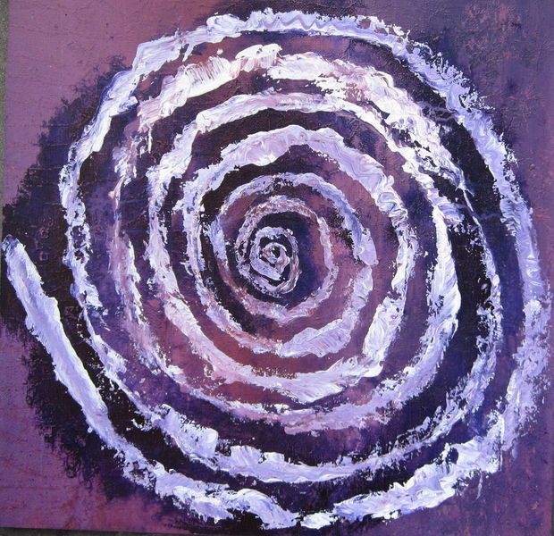 Lila, Ring, Muster, Wachsende ringe, Violett, Spirituell