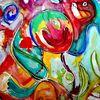 Ausdruck, Farben, Fantasie, Abstrakt