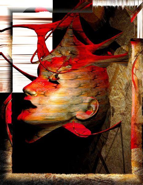 Render, Digital, Fantasie, Sammler moderne kunst, Digitale kunst, Evolution