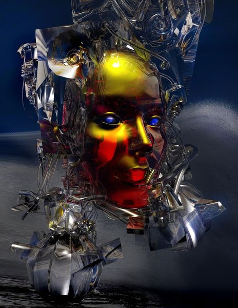 Stern, Geist, Universum, Individuum, Kreation, Digitale kunst