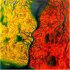 Kuss, Paar, Eruption, Kontinent