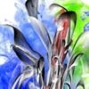 Leuchtkraft, Wasserblume, Digitale kunst