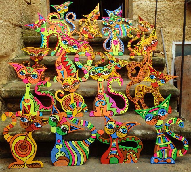 Meaow, Katze, Tiere, Miauw, Malerei