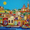 Malta, Gozo, Mgarr, Malerei