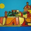 Meer, Malta, Senglea, Malerei