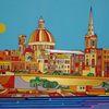 Valletta, Malta, Birgu, Malerei