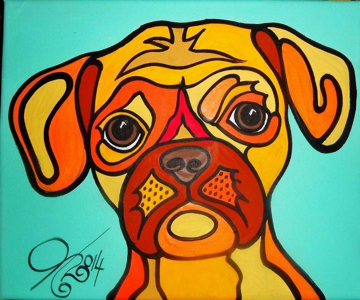 Malta, Hund, Malerei