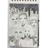 Gekritzel, Skizzenbuch, Comic, Gesicht