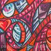 Blau, Pastellmalerei, Pink, Herz