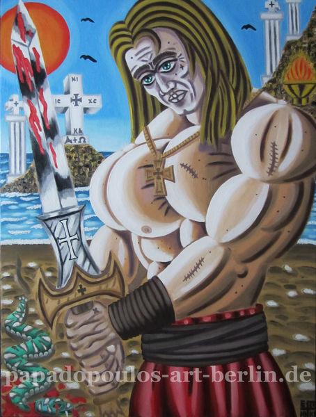 Satan, Krieg, Spartaner, Griechenland, Insel, Krieger