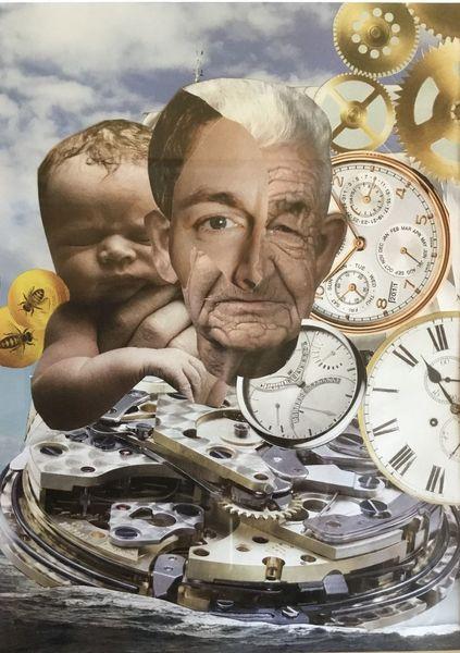 Uhr, Zeit, Jung, Vergänglichkeit, Alt, Ewigkeit