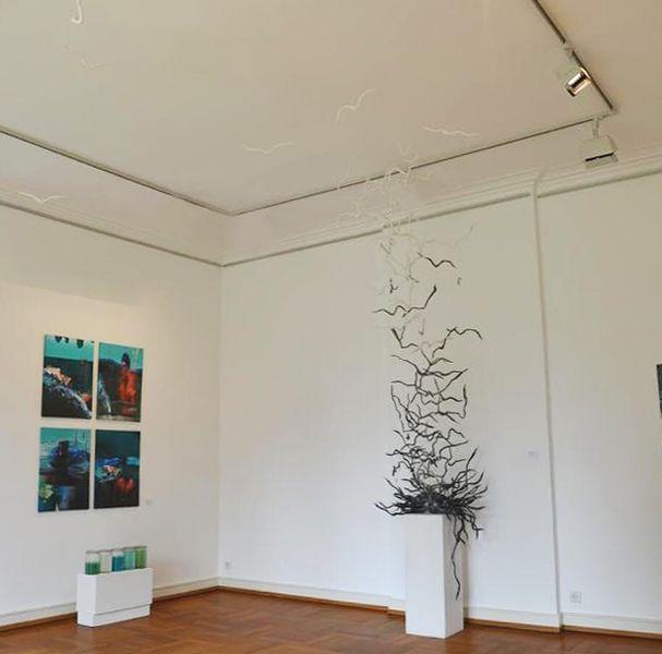 Installation, Papierkunst, Abstrakt, Ausstellung, Paperart, Plastik