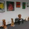 Malereien, Skulptur, Ausstellung, Pinnwand