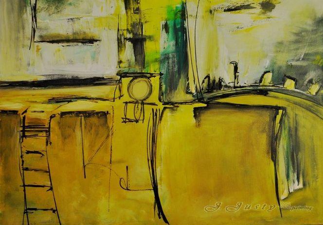 Acrylmalerei, Aspire, Malerei, Abstrakt