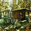 Sonne, Plenair, Wald, Studie