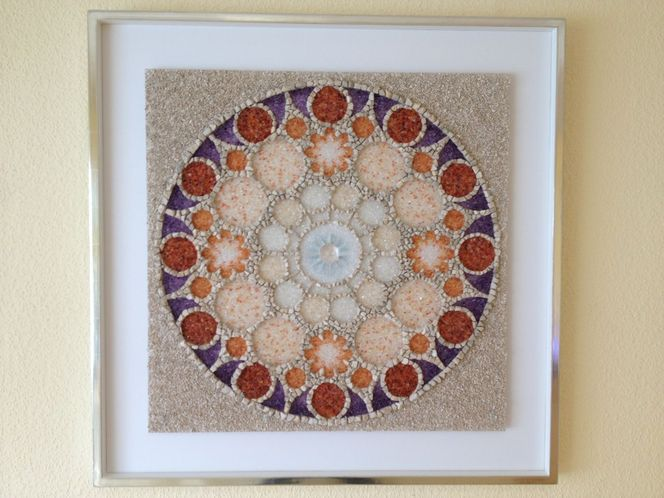 Mandala, Edelstein, Kunsthandwerk