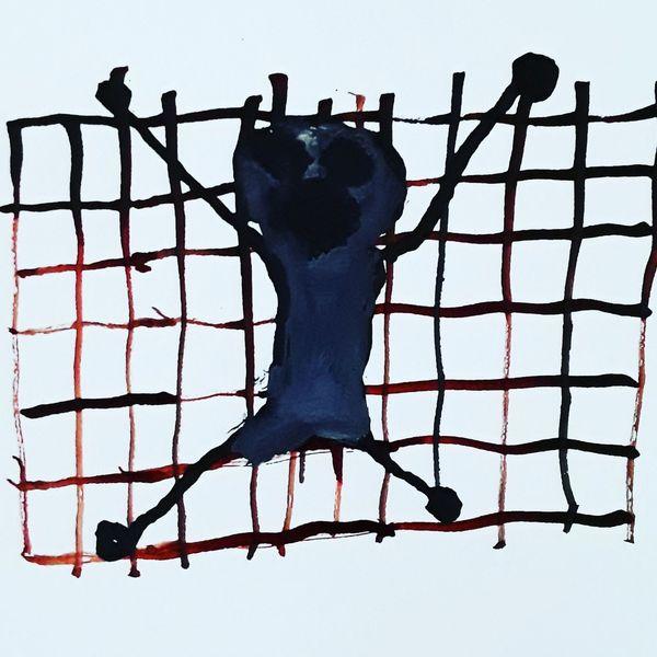 Outsider art, Kunst und psychiatrie, Artbrut, Malerei, Gefangen