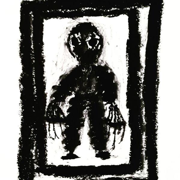 Psychiatrie, Artbrut, Outsider art, Malerei, Tod