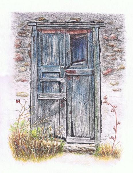 Tür, Türzeichnung, Alte türen, Zeichnungen