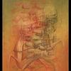 Zeichnen, Malerei, Surreal, Mischtechnik