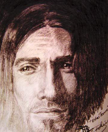 Tonne, Mann, Estas, Portrait, Zeichnungen