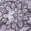 Blüte, Rund, Mandala, Blumen