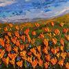 Feld, Expressionismus, Tal, Blüte