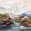 Landschaft, Fluss, Ardeche, Felsen