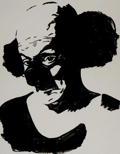 Acrylmalerei, Malerei, Clown, August