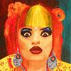 Popart, Nina hagen, Acrylmalerei, Portrait