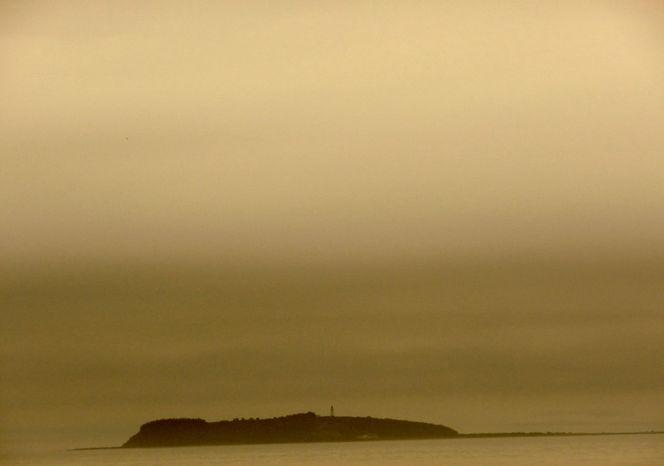 Küste, Meer, Stille, Insel, Dunst, Fotografie