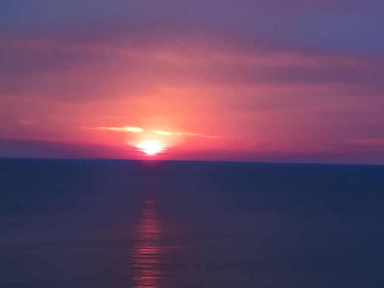Wasser, Rot, Meer, Aufgang, Sonne, Morgen