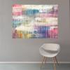 Büro, Regenbogen, Türkis, Moderne kunst