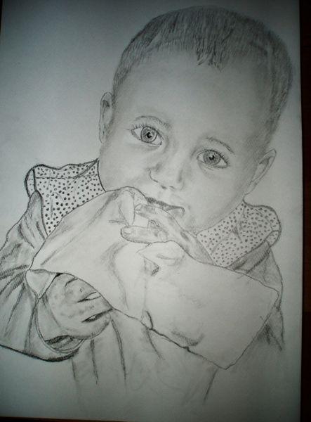 Gesicht, Augen, Portrait, Kind, Baby, Zeichnungen