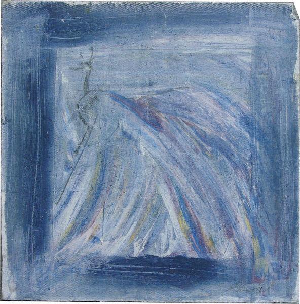 Vogel, Blau, Rot, Pfau, Quadrat, Gelb