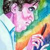 Dirigent, Portrait, Gesicht, Profil