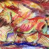 Vollblut, Pferde, Arabisches vollblut, Galopp