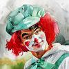Seele, Portrait, Menschen, Zirkus