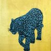 Bunt, Wildkatze, Tiere, Malerei