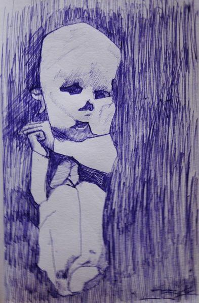 Menschen, Malerei, Zeichnung