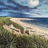 Landschaft, Sand, Himmel, Strand