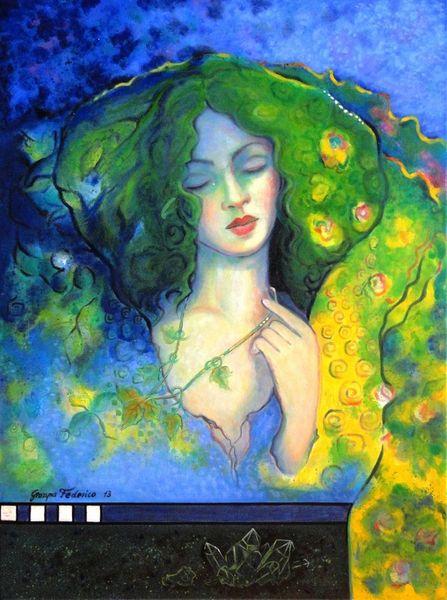 Farben, Natur, Acrylmalerei, Primavera, Jahreszeiten, Blumen