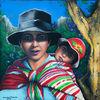 Kind, Malerei, Ausdruck, Bolivien