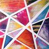 Streifen, Pink, Abstrakt, Dreieck
