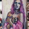 Frau, Expressionismus, Mädchen, Modell