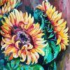 Blumen, Blätter, Garten, Natur