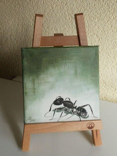 Ameise, Malerei, Acrylmalerei