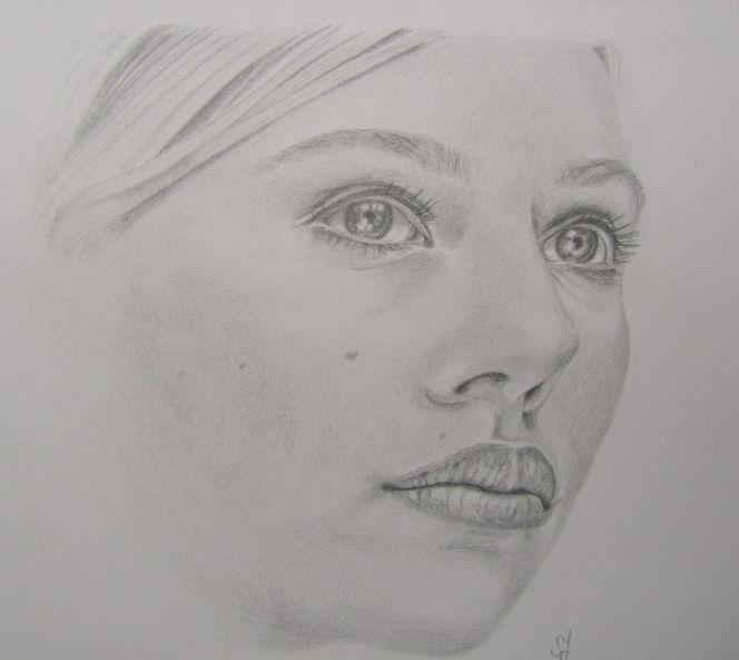 Kopf, Zeichnung