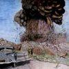 Oldtimer, Explosion, Ölmalerei, Pink floyd